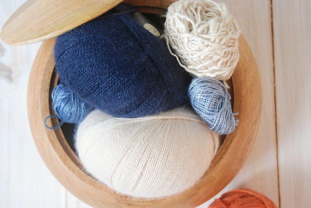 Slow Fashion Natural Fiber Yarns used by Moara Crochet