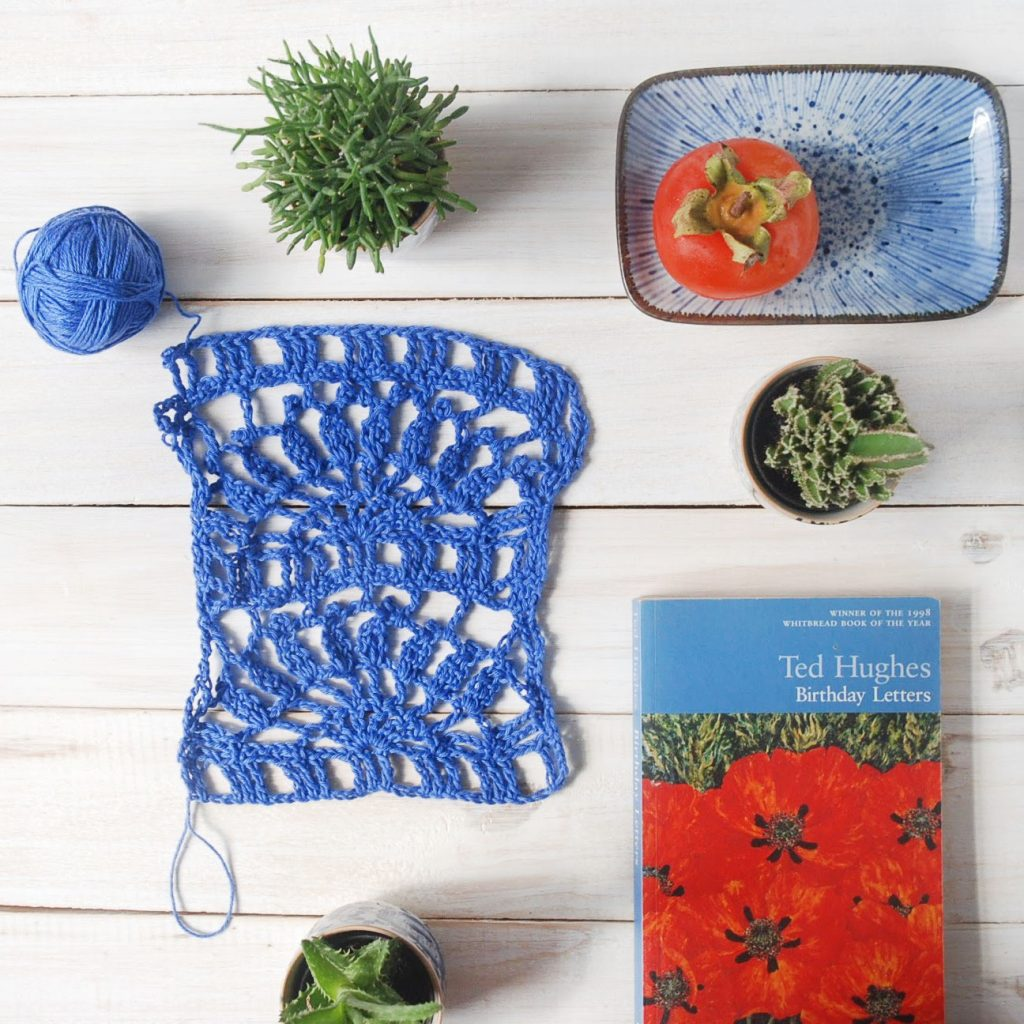 A New Leaf Crochet Flatlay by Moara Crochet