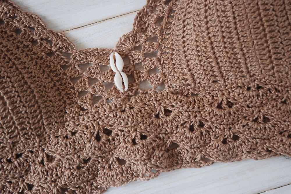 Crochet Crop Top Pattern by Moara Crochet