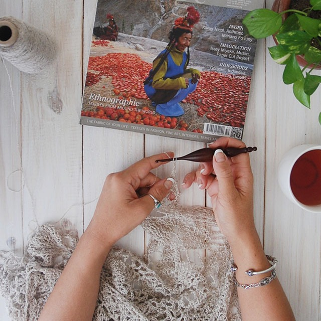 Slow Fashion through being Crochet Consious with Moara Crochet