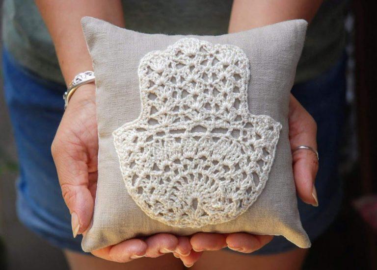 Hand of Fatima Crochet Pattern by Moara Crochet