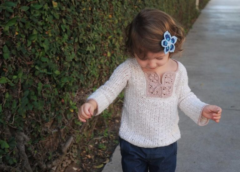 Bohemian Crochet Patterns for children by Moara Crochet