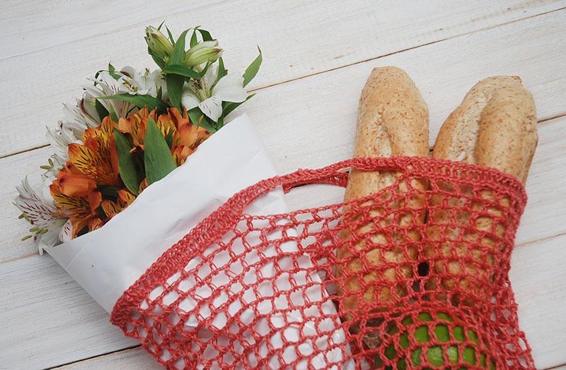 Crochet Market Bag by Moara Crochet