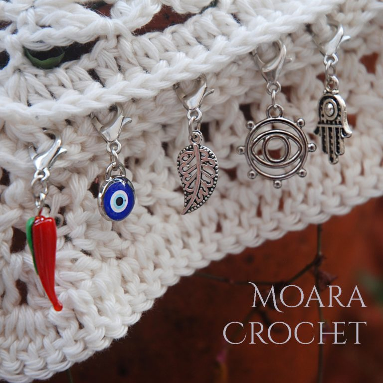 How to make Yarn Stitch Markers with Moara Crochet