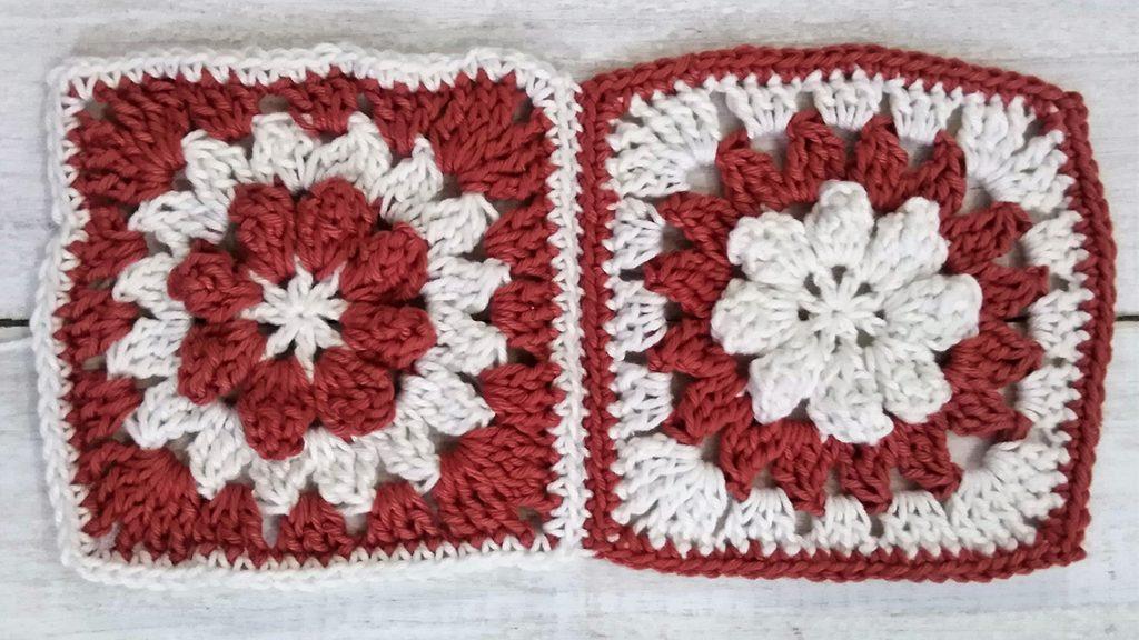 Crochet Granny Square invisable seam 2 with Moara Crochet