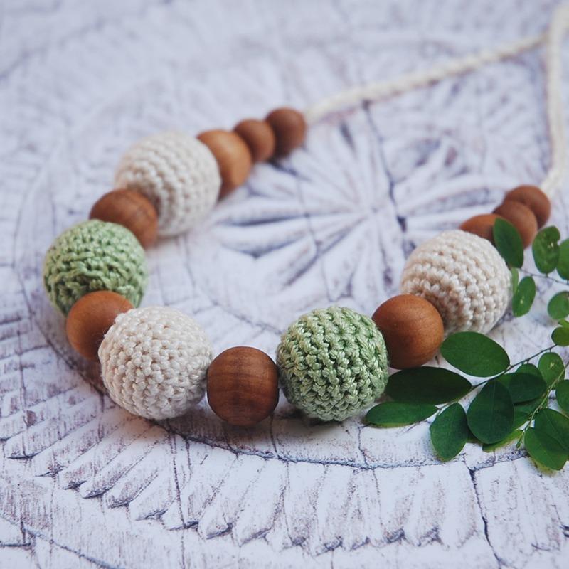 Crochet Nursing Necklace Pattern with Moara Crochet