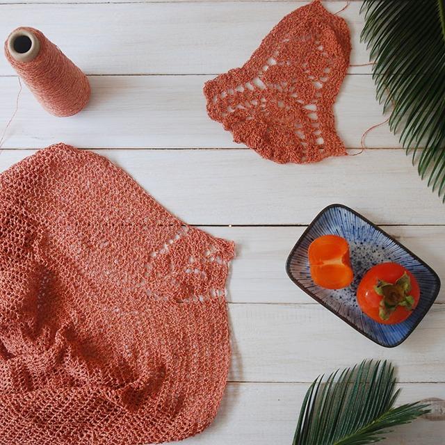 Crochet testing with Ito Kinu Yarn by Moara Crochet