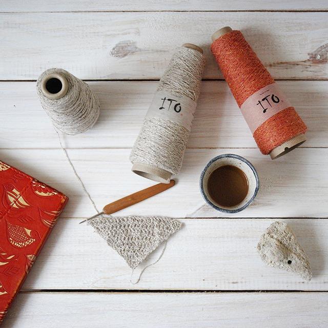 Crocheting with Ito Kinu Silk Yarn by Moara Crochet