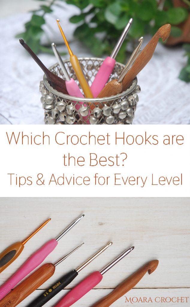 Best crochet hooks for Beginners with Moara Crochet