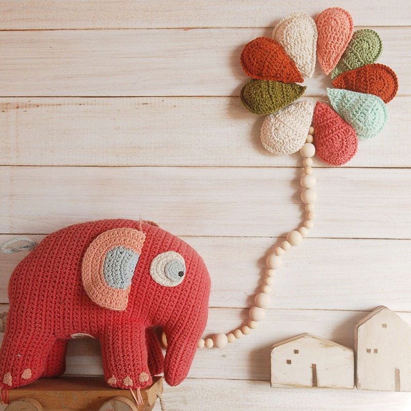 Crochet Rain Drop Bunting Free Pattern Moara Crochet