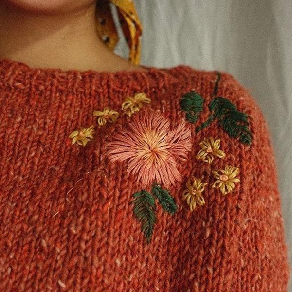 Embroidery by Plystreknitwear