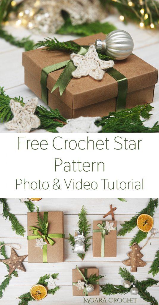 Free Crochet Star Pattern Moara Crochet