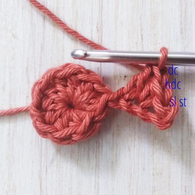 Free Star Crochet Pattern - Row 2a - Moara Crochet