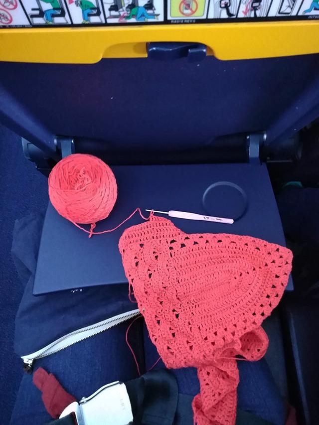 Can Crochet on Ryanair - Moara Crochet