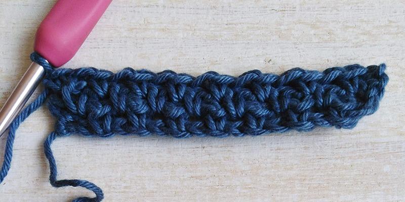 Crochet Moss Stitch Pattern - Moara Crochet
