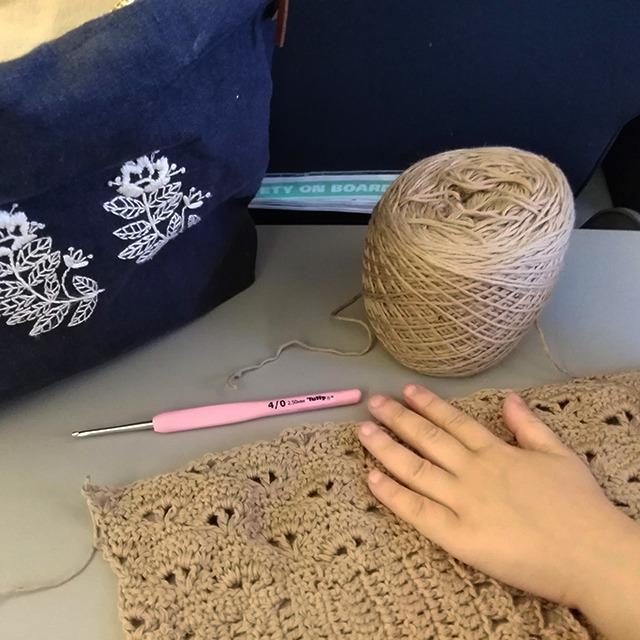 Can crochet hooks be taken on a airplane - long haul flight - Moara Crochet