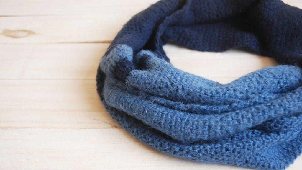 Free Crochet Pattern Moss Stitch Scarf - Moara Crochet