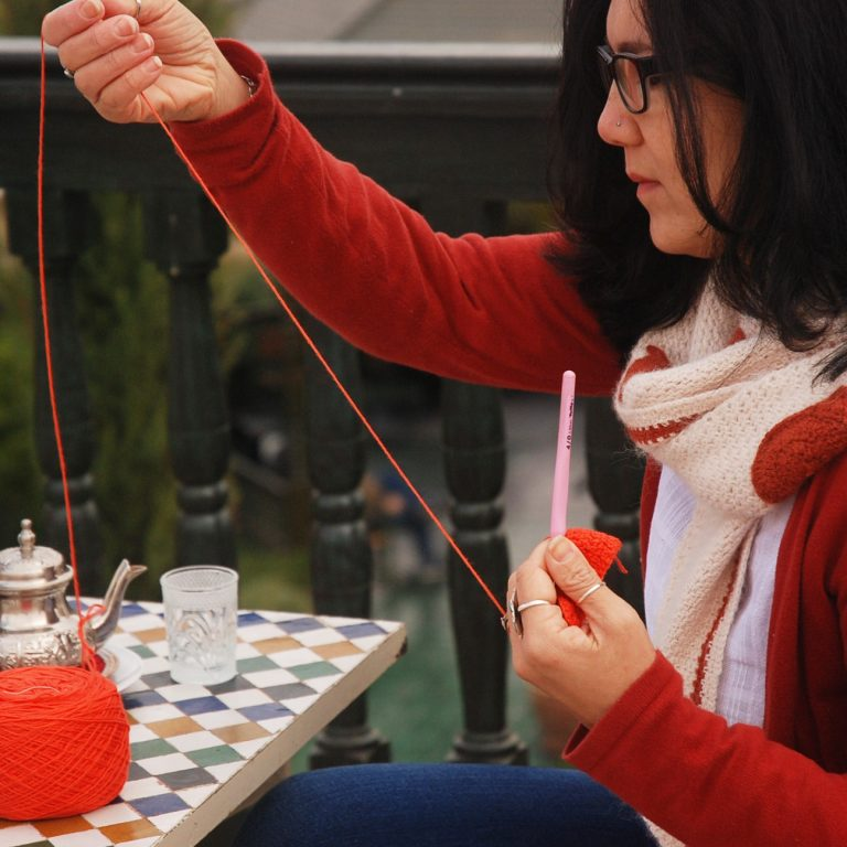 Learn how to crochet with up coming Workshops with Roseanna Murray from Moara Crochet
