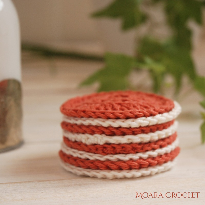 Crochet Face Pads Pattern - Moara Crochet Blog