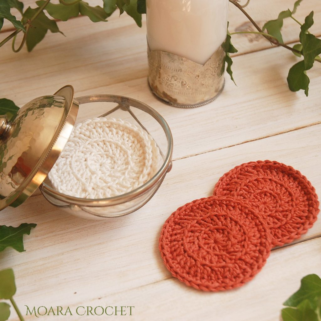 Crochet Face Scrubbie Free Pattern - Moara Crochet