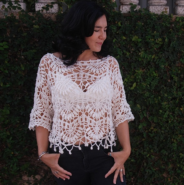 Crochet Patterns Kiara Tunic - Moara Crochet