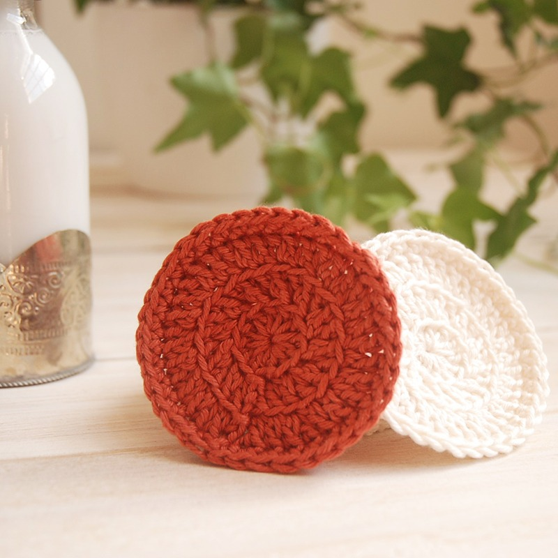 Crochet Spa Set - Face pads Pattern- Moara Crochet