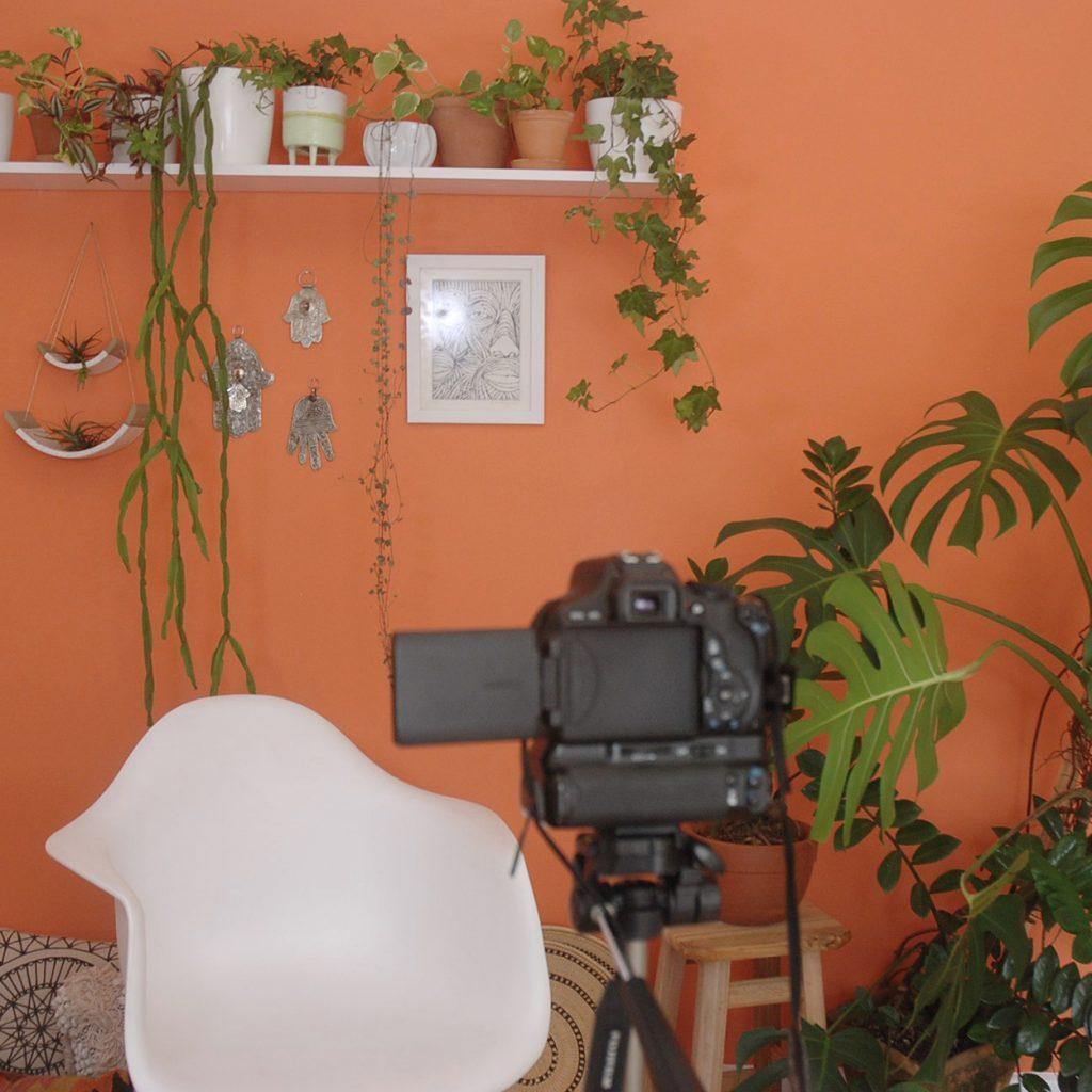DIY Home Youtube Studio - Moara Crochet