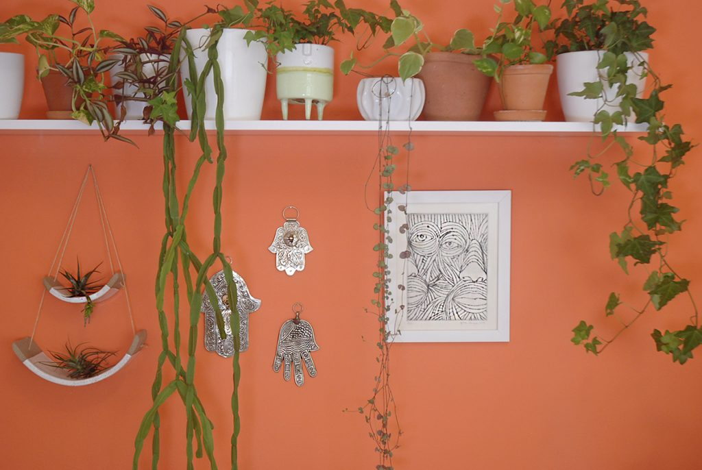 Plant Selfie - Home Youtube Studio - Moara Crochet