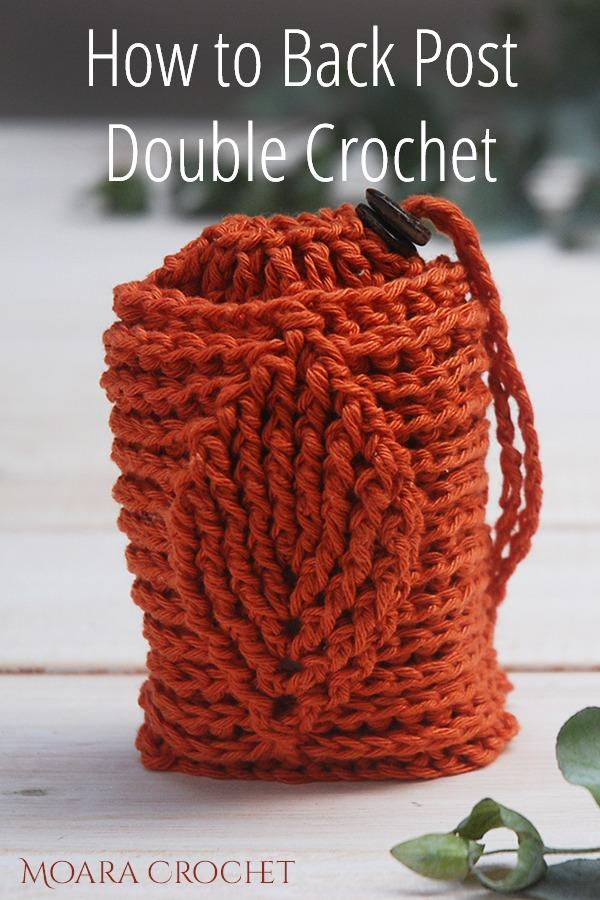 Back Post Double Crochet Free Pattern - Moara Crochet