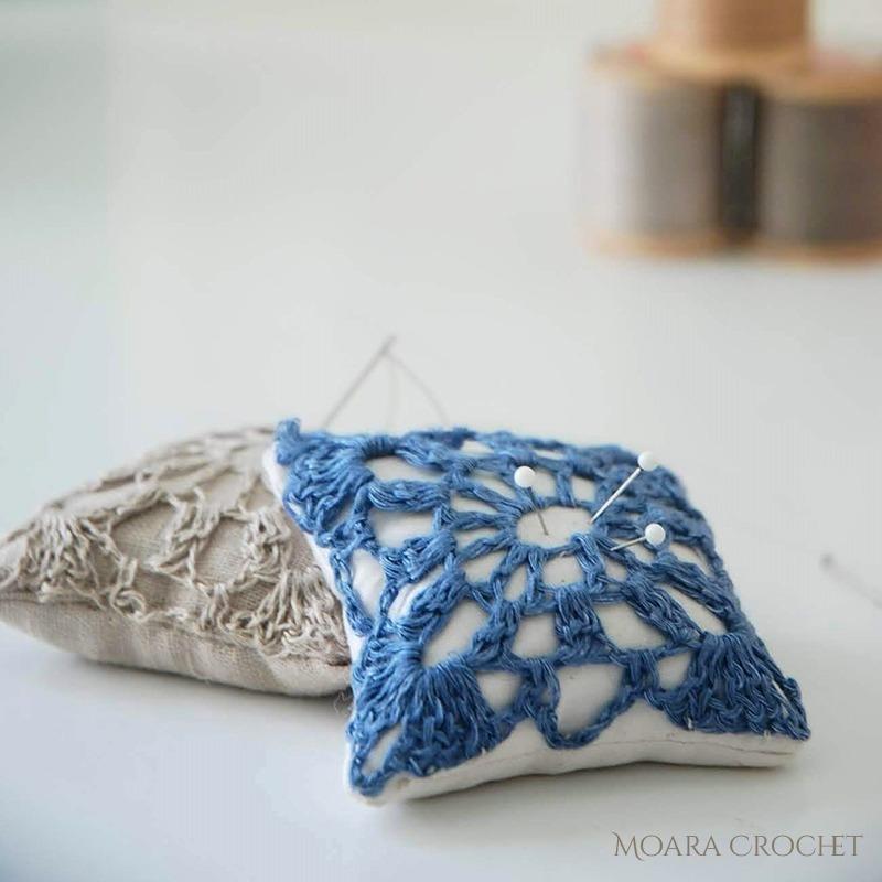 Free Crochet Pattern Pincushion - Moara Crochet