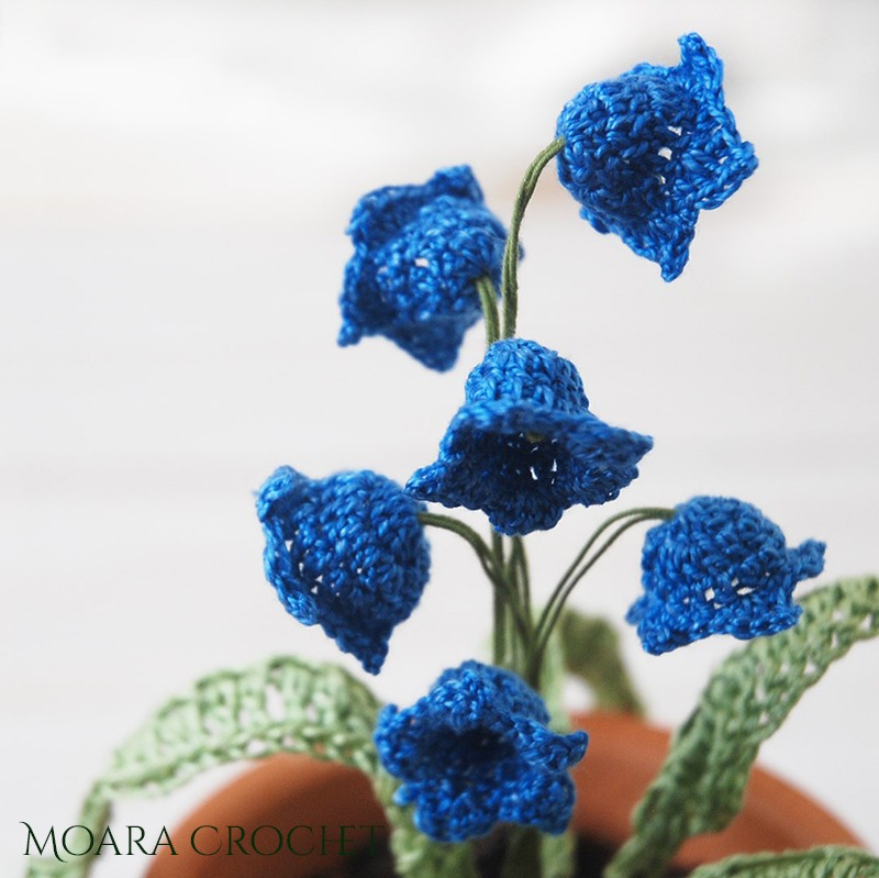 Bluebell Crochet Pattern - Moara Crochet
