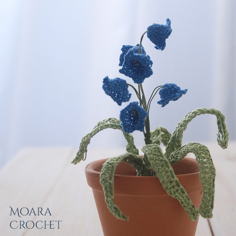 Crochet Bluebells Pattern from Moara Crochet