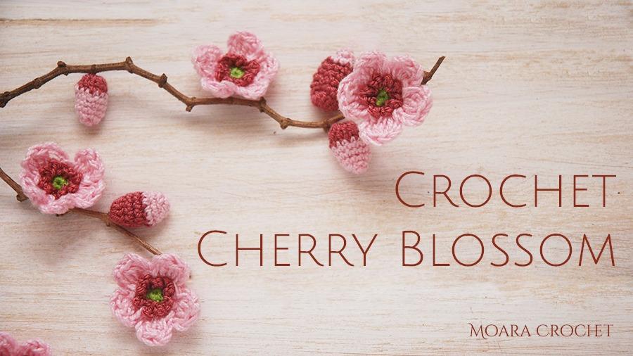 Crochet Cherry Blossom Pattern - Moara Crochet