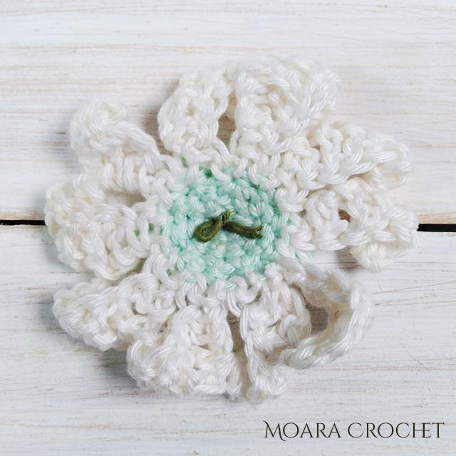 Crochet Daisy - Moara Crochet