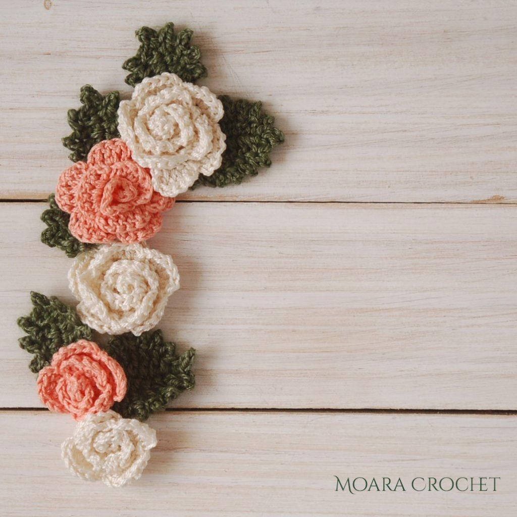 Free Crochet Flower Patterns with Moara Crochet
