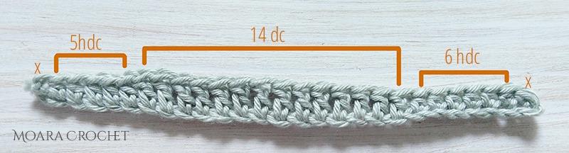 Free Crochet Leaf Pattern - Moara Crocet