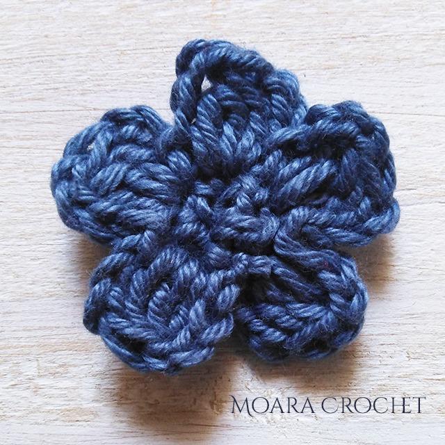 Row 2c- Moara Crochet