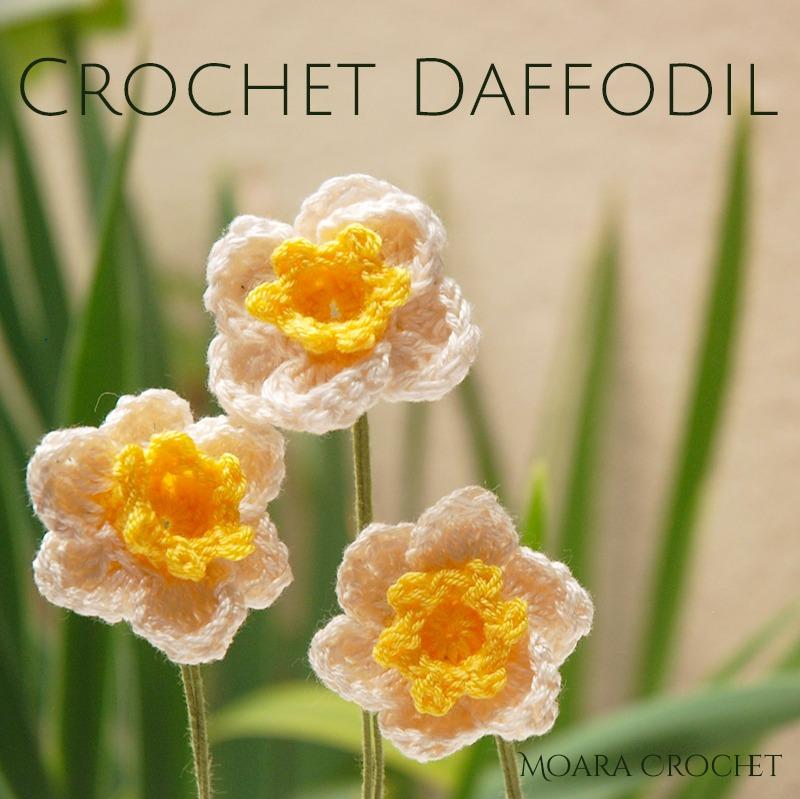 Crochet Daffodil Pattern - Moara Crochet