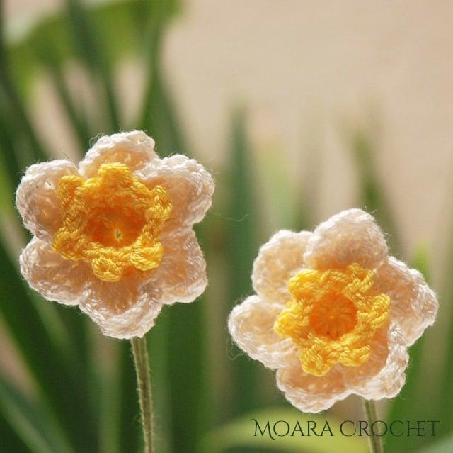 Daffodil Crochet Pattern - Moara Crochet