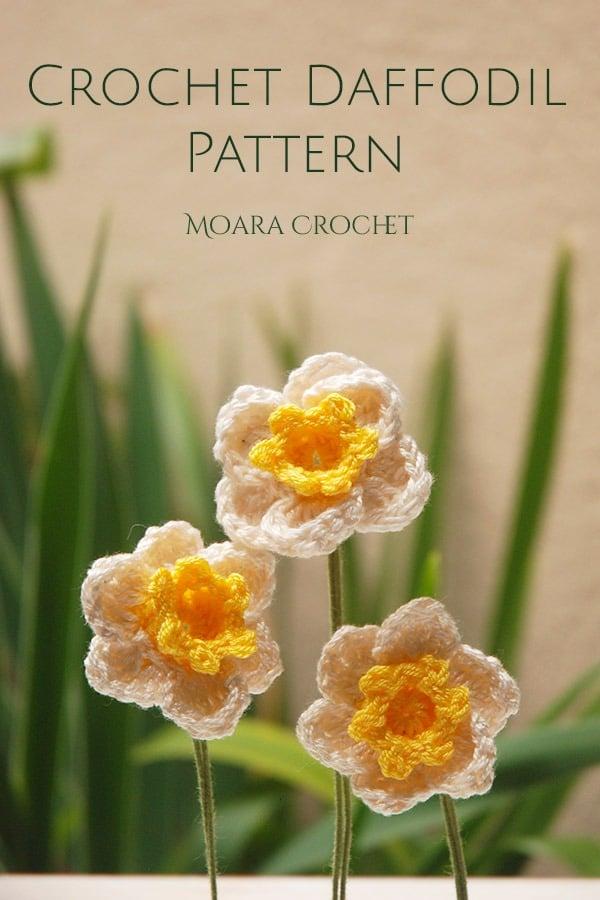 Daffoldil Crochet Pattern - Moara Crochet
