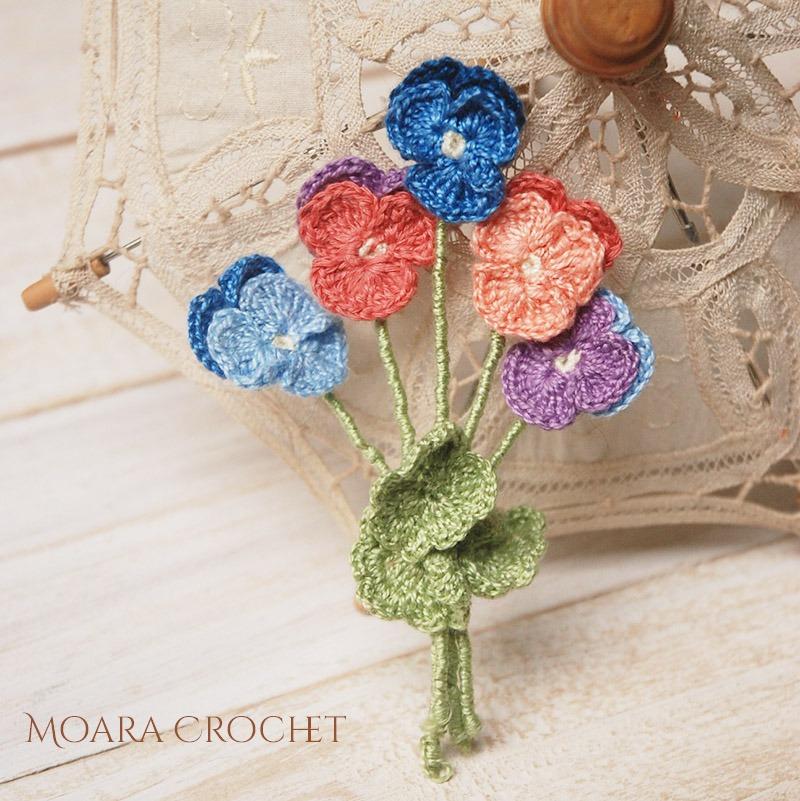 Free Crochet Flower Patterns - Moara Crochet