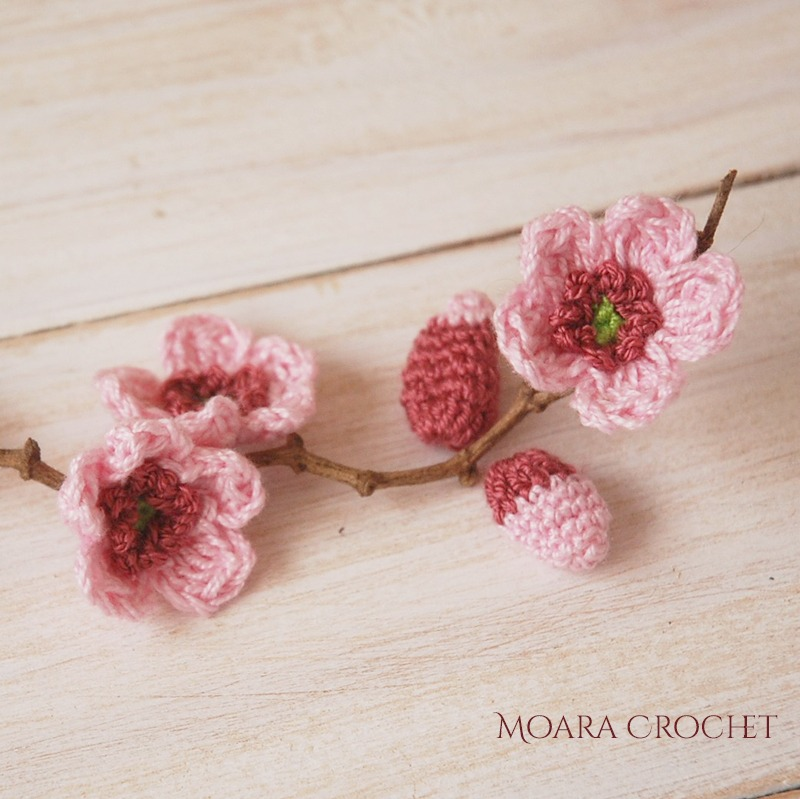 Free Crochet Flowers from Moara Crochet