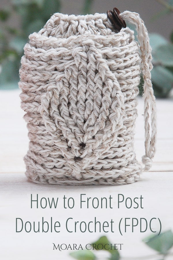 Front Post Double Crochet Free Pattern - Moara Crochet