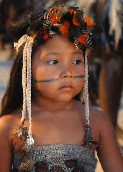 Amazon Tribes- Little Girl