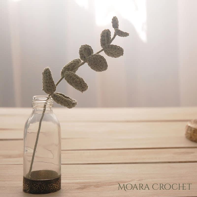 Crochet Eucalpytus Free Pattern - Moara Crochet