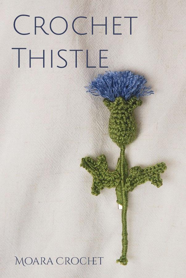 Crochet Thistle Free Pattern - Moara Crochet