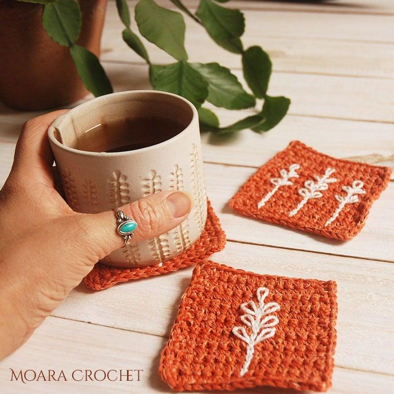 Easy Surface Crochet Tutorial - Moara Crochet