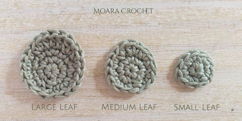 Eucalpytus Leaf Pattern - Moara Crochet