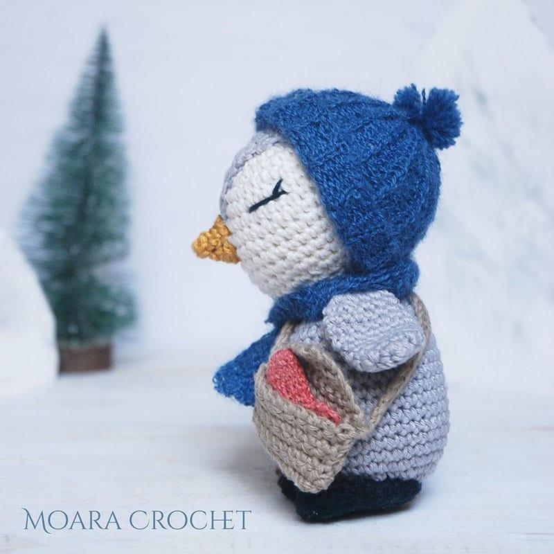 Amigurumi Penguin Pattern Pedro- Moara Crochet 6