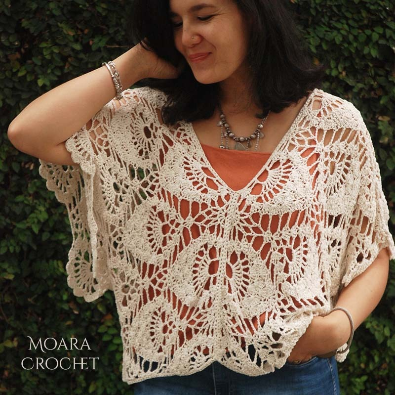 Aurelia Crochet Top - Moara Crochet